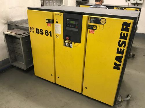 Opravy kompresorů KAESER