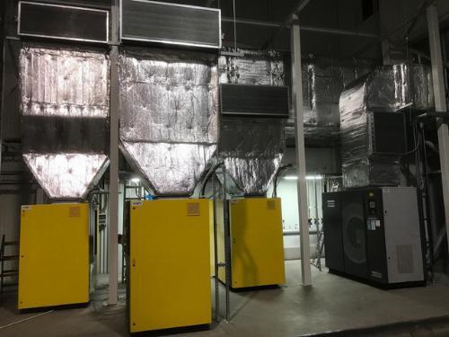 Šroubové kompresory KAERCHER a Atlas Copco