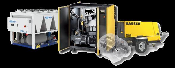 Chlazení MTA kompresory KAESER