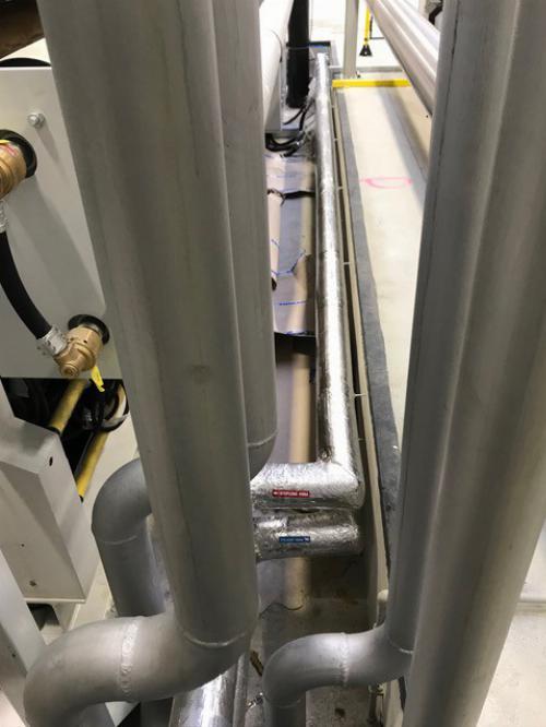 Instalace systému chlazení vody s jednotkou MTA TAEevo TECH