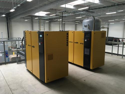 Instalace a servis kompresorů KAESER řady ASD